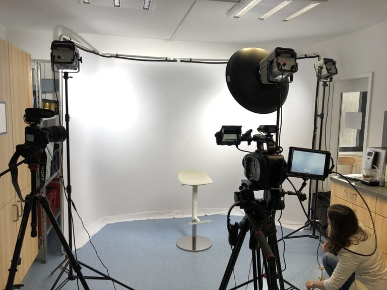Set Videoaufnahmen