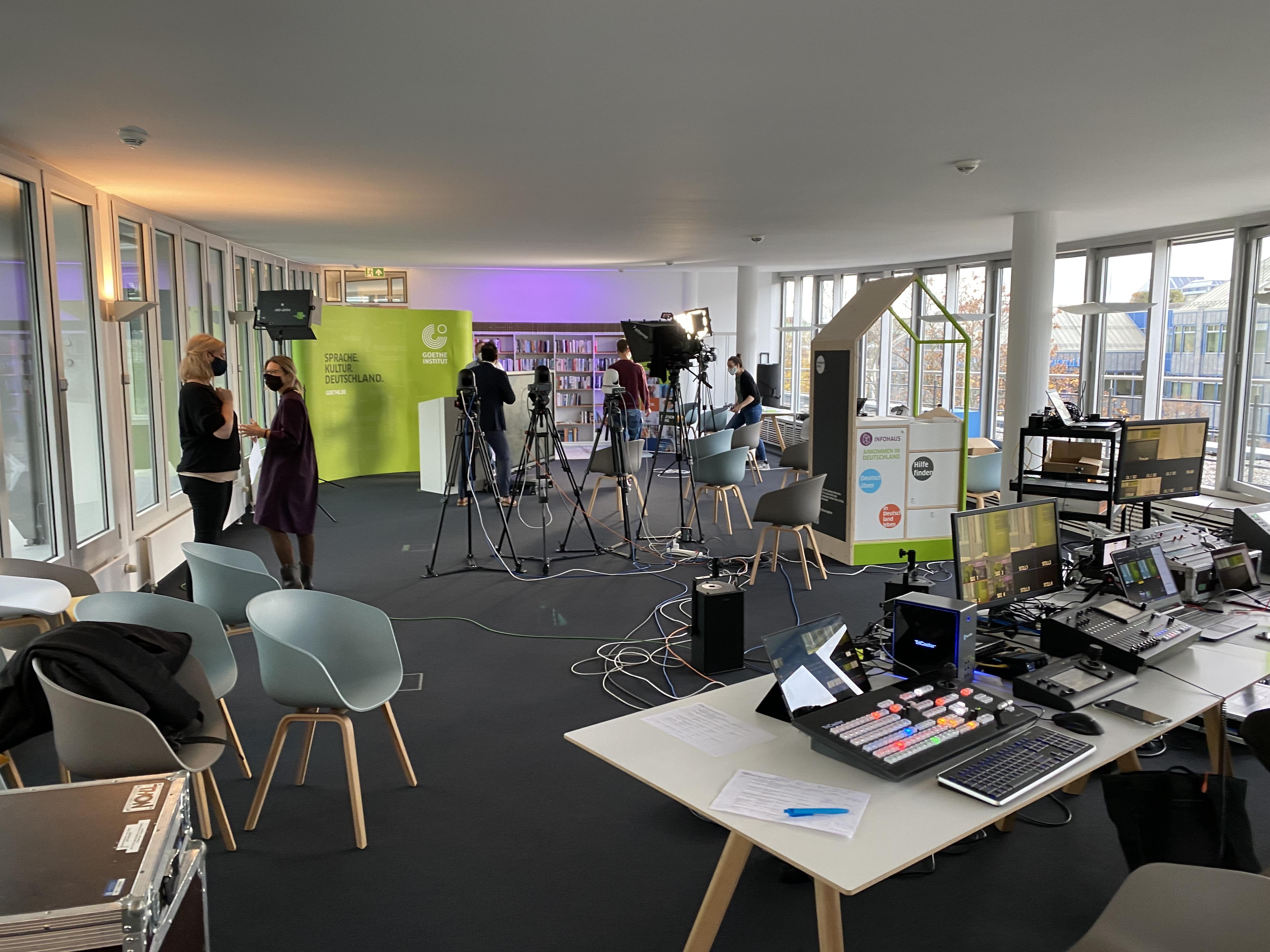 Livestream Goethe Institut